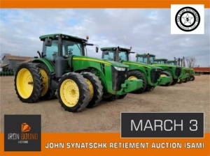 JOHN SYNATSCHK RETIEMENT AUCTION (SAM)