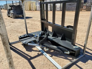 Unused Greatbear Tree Shear, Skid Steer Attachment