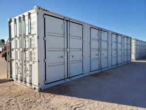 40ft HQ Multi Door Container, 4 Side Doors