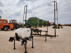 3 PT Hitch Wylie Weedwiper 30Ft Boom with 50 Gallon Tank and Remote Switch