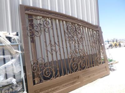 Custom Made 24ft Iron Gate